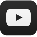 YouTube social squircle dark 128px